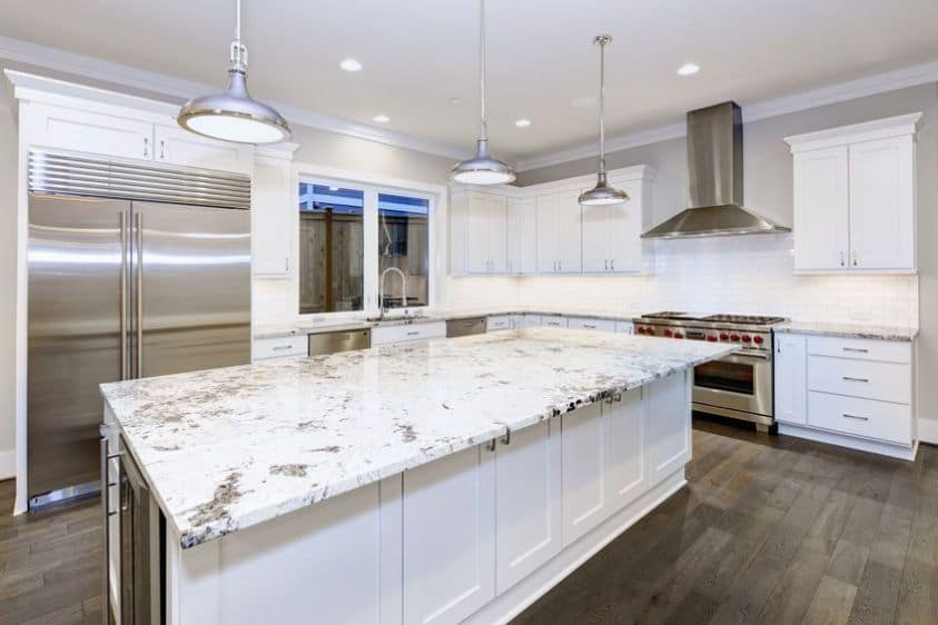 Quartz Kitchen Countertops KBR Kitchen and Bath