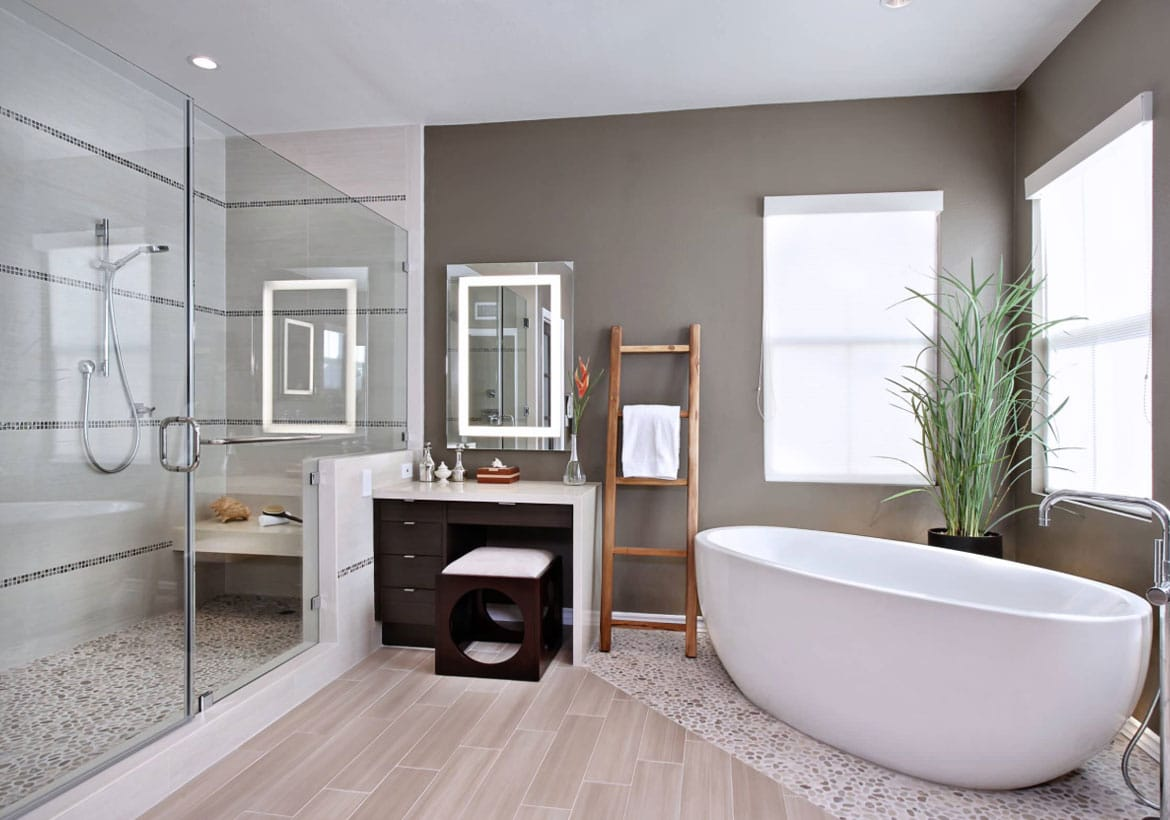 4 Bathroom Tile Trends
